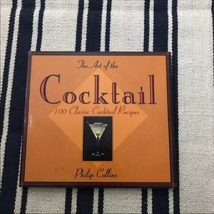 Cocktails Recipes Book By Philip Collins